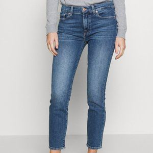 7 For All Mankind High Rise Roxanne Skinny Jean